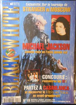 1996年MJファン雑誌(フランス)「BLACK & WHITE」NO.19