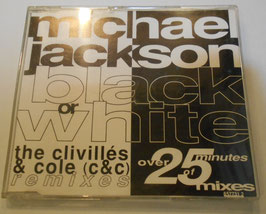 Michael Jackson ‎– Black Or White (The Clivillés & Cole Remixes)Europe