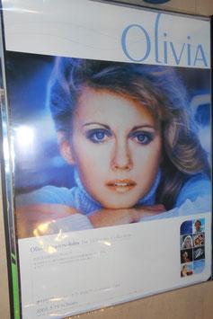 オリビア・ニュートン・ジョン  Best Album 販促用ポスター(2003年)