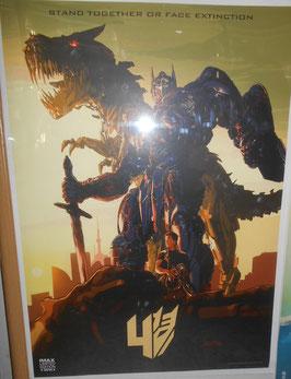 『トランスフォーマー/ロストエイジ』(Age of Extinction) IMAX限定版ポスター(2014年)