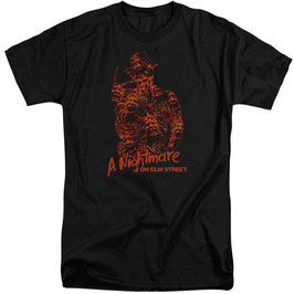 『A Nightmare on Elm Street』Freddy Chest of Souls  Tシャツ