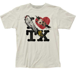 『悪魔のいけにえ』(The Texas Chain Saw Massacre)I Love TX Tシャツ