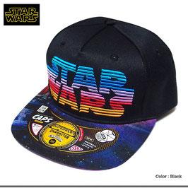 STARWARS  厚盛り ロゴ刺繍 ストリート キャップ