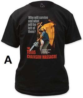 『悪魔のいけにえ』(The Texas Chain Saw Massacre)Tシャツ