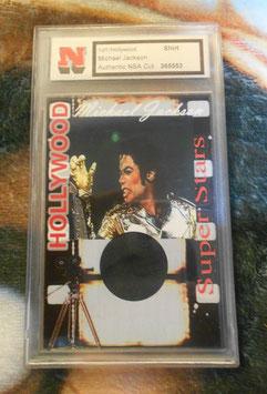 Michael Jackson 着用衣装入りカード(NSA社)
