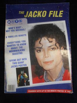 MJ The JACKO FILE (UK poster magazine)