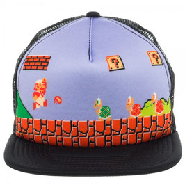 Nintendo Super (Fire)Mario  Trucker Cap