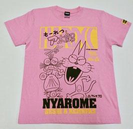 もーれつア太郎 ニャロメ&ケムンパス&べし  Tシャツ