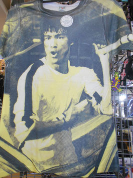 ブルース・リー『死亡遊戯』 総柄 Tシャツ