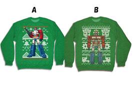 TRANSFORMERS  CREWNECK  SWEATSHIRTS