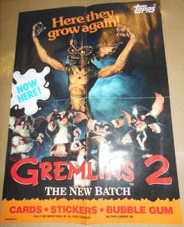 『グレムリン2 新・種・誕・生』(Gremlins 2: The New Batch) TOPPS ミニポスター(1990年)