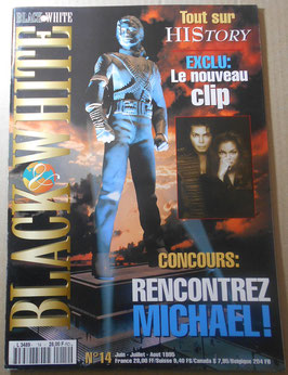 1995年 MJファン雑誌「BLACK & WHITE」NO.14