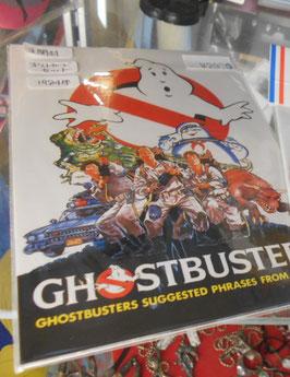 『ゴーストバスターズ』(Ghostbusters)  1984年 ポストカード8枚セット(日本製)