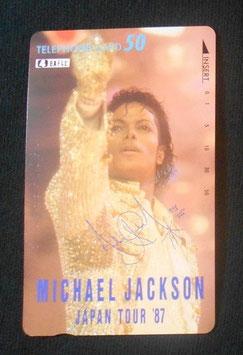 Michael Jackson テレフォンカード 1987年 日テレ(BAD)