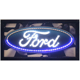 【LED  サイン】 FORD  OVAL