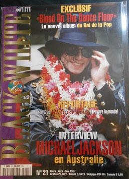 1997年MJファン雑誌(フランス)「BLACK & WHITE」NO.21