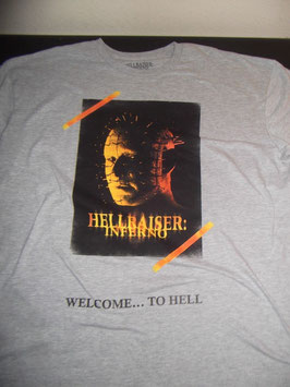 Hellraiser Inferno Welcome To Hell Mens Tシャツ
