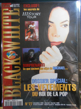 1998年MJファン雑誌「BLACK & WHITE」NO.27