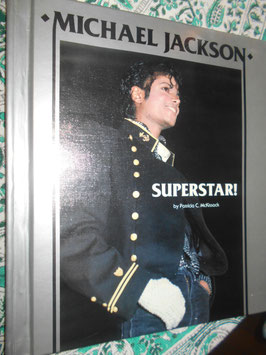 Michael Jackson「SUPERSTAR!」 by Patricia C McKissack(1984年)