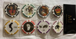 PONTE16 MJ カジノチップ 8個セット