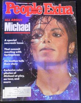 雑誌「PEOPLE EXTRA」マイケル特集 1984年