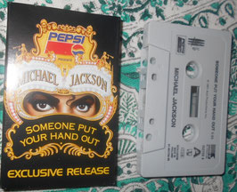 MJ「Someone Put Your Hand Out」 UK Promo cassette single(1992年)