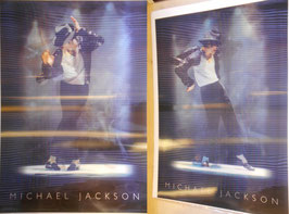 Michael Jackson 3D ポスター(L)