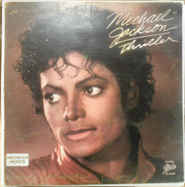 "Michael Jackson THRILLER Mexican 12"" GREEN VINYL LP"