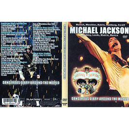 DVD:MJ Dangerous Diary Around The World