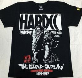 勝新太郎 -THE BLIND OUTLOW Tシャツ