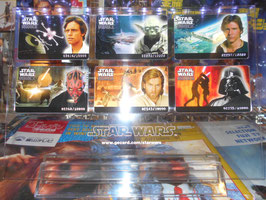 Star Wars  LTD.10000 オリジナル コレクターズ カード(6枚セット)
