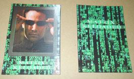『マトリックス リローデッド』(The Matrix Reloaded) 3Dポストカード(2枚セット)