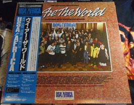 We Are The World LP Vinyl Record(帯付き日本版)