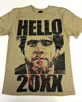 HELLO 20XX -High Def 2018 Tシャツ(サンドカーキ)