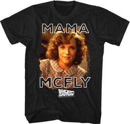 『バック・トゥ・ザ・フューチャー』(Back to the Future)Tシャツ(マーティ&ママ)