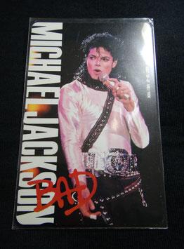 Michael Jackson テレフォンカード 1988年(BAD)