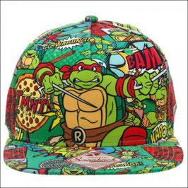 Teenage Mutant Ninja Turtles  All Over Sublimated Snapback Cap