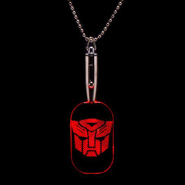 Transformers Autobots LED Dog Tag