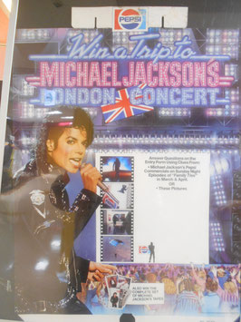 Michael Jackson BAD Tour PEPSI  ポップ(UK)
