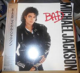 マイケル・ジャクソン「BAD」LPレコード (見本盤)