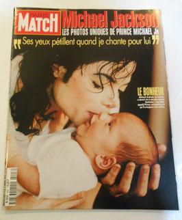 フランス雑誌 「PARIS MATCH」 1997年 MJ特集
