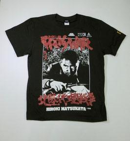 仁義なき戦い 北陸代理戦争 (松方弘樹)Tシャツ