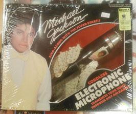 MJ  Cordless Electprpnic Microphone  1984(未開封)