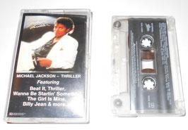 「THRILLER」オリジナル カセットテープ(USA版)