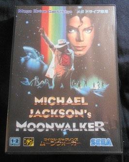 マイケル・ジャクソン MOONWALKER SEGA メガドライブ用ソフト