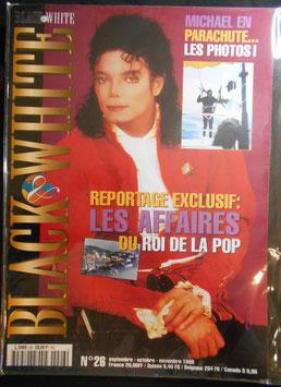 1998年MJファン雑誌(フランス)「BLACK & WHITE」NO.26