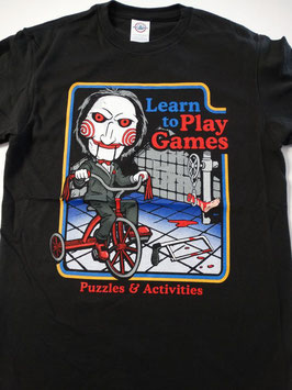 SAW LEARN TO PLAY GAMES Tシャツ