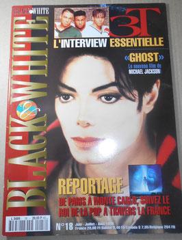 1996年 MJファン雑誌「BLACK & WHITE」NO.18
