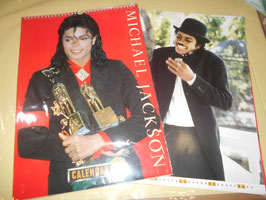 MICHAEL JACKSON 1990 CALENDAR by CULTURE SHOCK