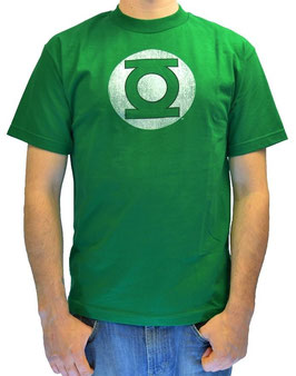 Green Lantern & Flash Logo Tシャツ